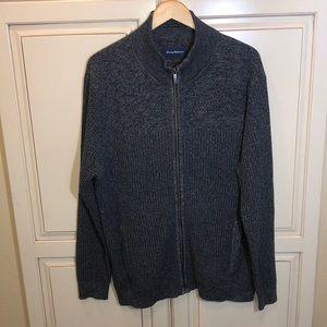 Tommy Bahama full zip sweater